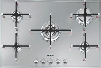 Встраиваемая газовая варочная панель Smeg PX 7502 smeg kc 90 px