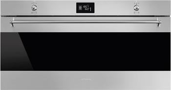Встраиваемый электрический духовой шкаф Smeg SFR 9390 X smeg fme 24 x 2