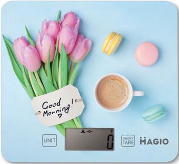 Кухонные весы MAGIO МG-791 вафельница magio мg 390