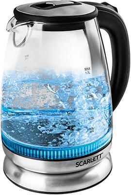 Чайник электрический Scarlett SC-EK 27 G 22 scarlett sc ek27g18 black чайник электрический