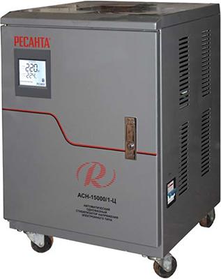 Стабилизатор напряжения Ресанта АСН-15000/1-Ц однофазный стабилизатор напряжения энергия асн 15000