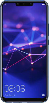 Мобильный телефон Huawei Mate 20 Lite 4/64 Gb синий смартфон huawei mate 20 lite black