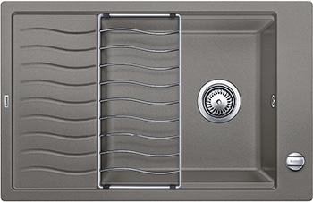 Кухонная мойка BLANCO ELON XL 6S SILGRANIT серый беж с клапаном-автоматом inFino 524841 мойка кухонная blanco elon xl 6 s жасмин с клапаном автоматом 518740