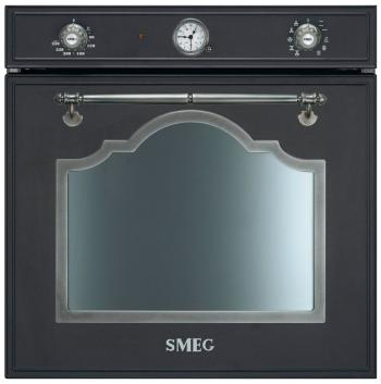 Встраиваемый электрический духовой шкаф Smeg SF 750 AS встраиваемый электрический духовой шкаф smeg sf 750 pol