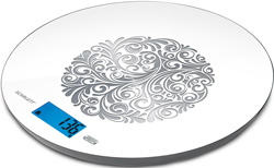 Кухонные весы Scarlett SC-1215 R белый весы напольные scarlett sc bsd33e894