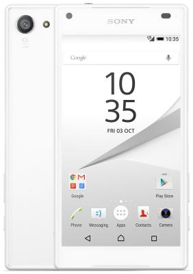 все цены на Мобильный телефон Sony Xperia Z5 compact White онлайн