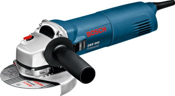 Угловая шлифовальная машина (болгарка) Bosch GWS 1000 (06018218 R0) болгарка bosch gws 9 125