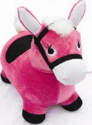 Лошадка-попрыгунчик Shantou Gepai розовая