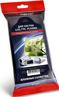 Pro Влажные салфетки Topperr для TFT/LCD/PLASMA 30 шт. 3026
