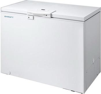 Морозильный ларь Kraft BD (W) 335 HL с LCD дисплеем на ручке (белый) морозильный ларь kraft bd w 335 blg с доп стеклом c lcd дисплеем белый