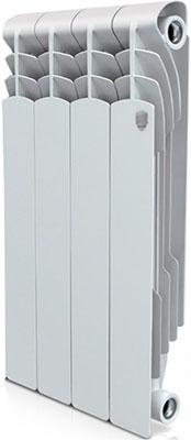 Водяной радиатор отопления Royal Thermo Revolution Bimetall 500 – 4 секц. royal thermo биметаллический revolution bimetall 500 8 секций