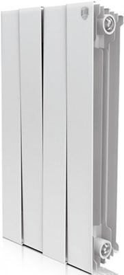 Водяной радиатор отопления Royal Thermo PianoForte 500/Bianco Traffico - 4 секц. радиатор отопления алюминиевый radena 500 85 10 секц