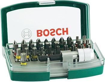 Набор бит Bosch Promoline с цветовой кодировкой 32 шт. 2607017063 набор бит bosch 32 шт 2607017063