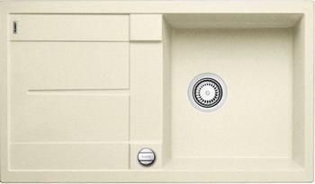 Кухонная мойка BLANCO METRA 5 S-F жасмин с клапаном-автоматом blanco metra 5 s f с клапаном автомата аллюметаллик