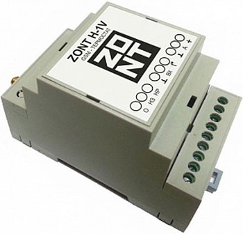 Термостат Эван GSM-Climate ZONT-H1V DIN 112018 electronic din rail box 1 psc free shipping din rail box case plastic enclosures abs junction housing electronics housing