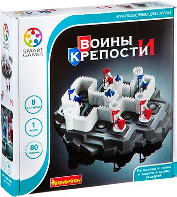 Настольная игра Bondibon Воины и Крепости ВВ1882 bondibon декопатч копилка зайчик bondibon