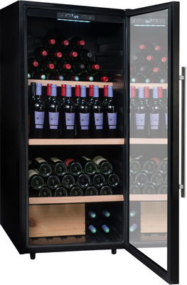 Винный шкаф Climadiff PCLV 160 винный шкаф climadiff cle 18 нержавеющая сталь