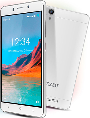 Мобильный телефон Ginzzu S 5220 белый ginzzu s5050