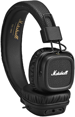 Наушники Marshall Major II Bluetooth Black наушники marshall major ii android black