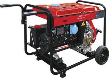 Электрический генератор и электростанция FUBAG DS 5500 A ES шуруповерт электрический fit es 321