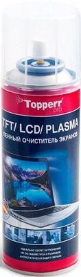 Пенный очиститель для ухода за мониторами Topperr 3040 набор для ухода за мультиваркой topperr 3424