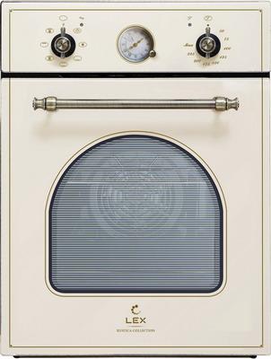 Встраиваемый электрический духовой шкаф Lex EDM 4570 C IV встраиваемый электрический духовой шкаф smeg sf 4120 mcn