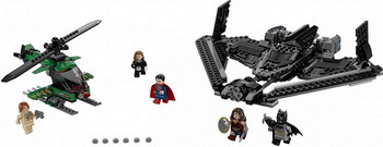 Конструктор Lego SUPER HEROES Поединок в небе 76046 super heroes batman decool blocks set mr freeze aquaman compatible with lego marvel models building toys