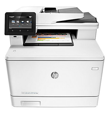 МФУ HP Color LaserJet Pro MFP M 477 fdw (CF 379 A) hewlett packard hp color laserjet pro mfp m277n цветной лазерный мфу