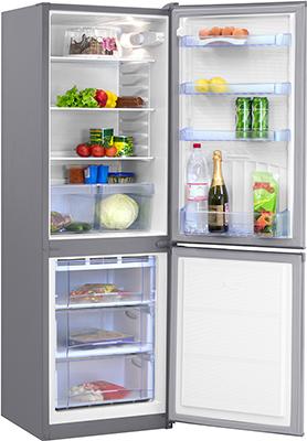 Двухкамерный холодильник Норд NRB 139 932 нержавеющая сталь холодильник beko rcnk365e20zx двухкамерный нержавеющая сталь