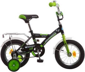 Велосипед Novatrack 12 ASTRA чёрный 123 ASTRA.BK5 детский велосипед для мальчиков novatrack astra 60747