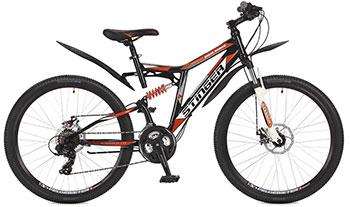 Велосипед Stinger 26 SFD.HILAND2D.18 BK7 26'' Highlander 200 D 18'' черный велосипед stinger highlander d 26 рама 16 оранжевый