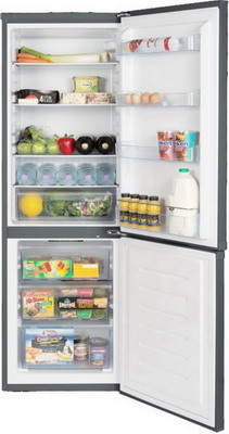 Двухкамерный холодильник Ascoli ADRFI 345 W Inox многокамерный холодильник ascoli acdi 480 w cтальной