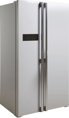 Холодильник Side by Side Ascoli ACDW 571 W white прямая вертикальная ручка