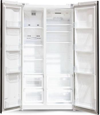 Холодильник Side by Side Ginzzu NFK-605 белый холодильник side by side samsung rs57k4000sa