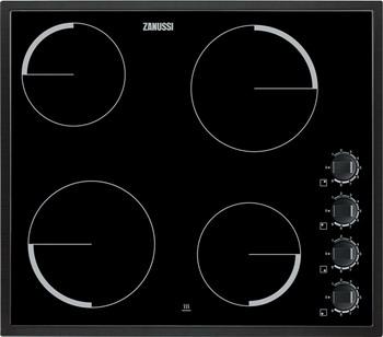 Встраиваемая электрическая варочная панель Zanussi ZEV 56140 NB варочная панель электрическая zanussi zev 6340 xba черный