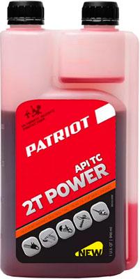 Масло Patriot POWER ACTIVE 2T дозаторная 0 946л  850030568 снегоуборщик patriot ps 710 е