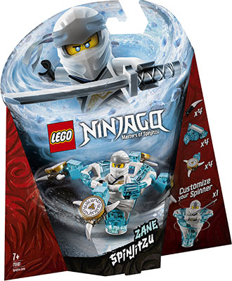 Конструктор Lego Зейн: мастер Кружитцу 70661 Ninjago Masters of Spinjitzu lego lego конструктор lego ninjago 70648 зейн мастер дракона