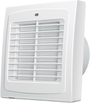 Вытяжной вентилятор BLAUBERG Auto 125 белый цена