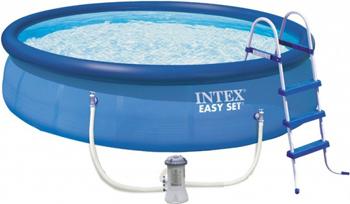 Бассейн Intex Easy Set 457х107 12430л 26166 бассейн надувной intex easy 28144 56930