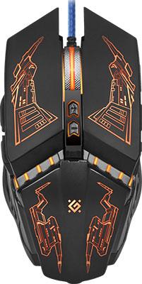 Проводная игровая мышь Defender Halo Z GM-430 L 52430 мышь defender forced gm 020 l 52020