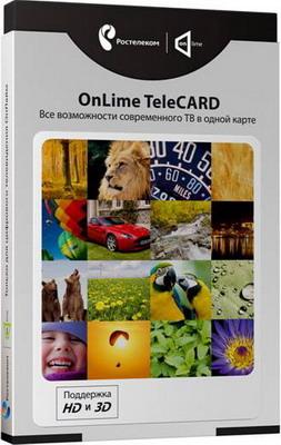 Цифровое спутниковое телевидение OnLime TeleCARD