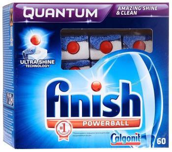 Таблетки для посудомоечных машин FINISH QUANTUM 60 шт. ринфолтил 60 таблетки
