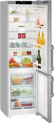 Двухкамерный холодильник Liebherr CNef 4015 liebherr cnef 5715