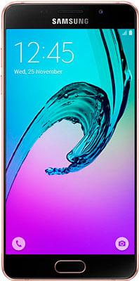 Мобильный телефон Samsung Galaxy A5 (2016) 16 Gb SM-A 510 F розовый samsung galaxy a5 2016 sm a510f 16 gb pink