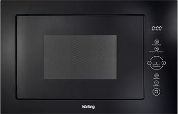 Встраиваемая микроволновая печь СВЧ Korting KMI 825 TGN lg mb65w95gih white свч печь с грилем