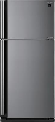 Двухкамерный холодильник Sharp SJ-XE 55 PMSL холодильник sharp sj pc58ach серебристый