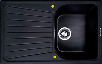 Кухонная мойка Zigmund amp Shtain KLASSISCH 790 черный базальт кухонная мойка zigmund amp shtain eckig 800 черный базальт