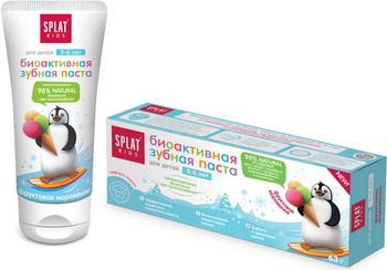 Зубная паста Splat KIDS Фруктовое мороженое 50мл splat