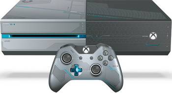 Игровая приставка Microsoft Xbox One 1Tb + Halo 5 (KF6-00012) игра для microsoft xbox one halo wars 2