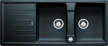 Кухонная мойка BLANCO LEXA 8S SILGRANIT антрацит  мойка lexa 8 coffee 515063 blanco